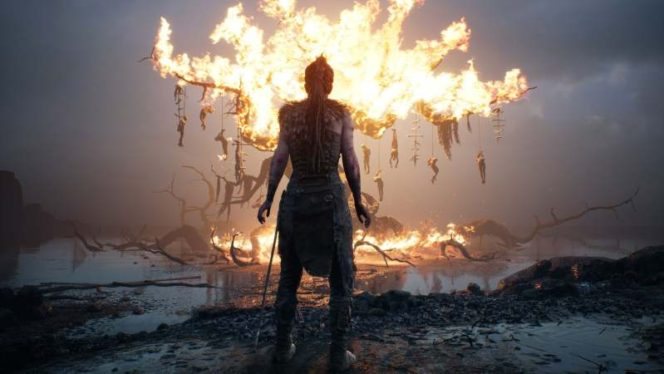 Pixelated Gamer: Hellblade: Senua's Sacrifice Review (PS4 Pro)