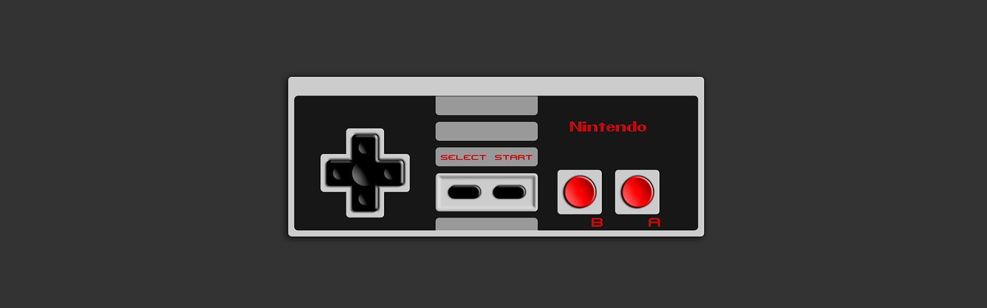 Retro Gaming Banner