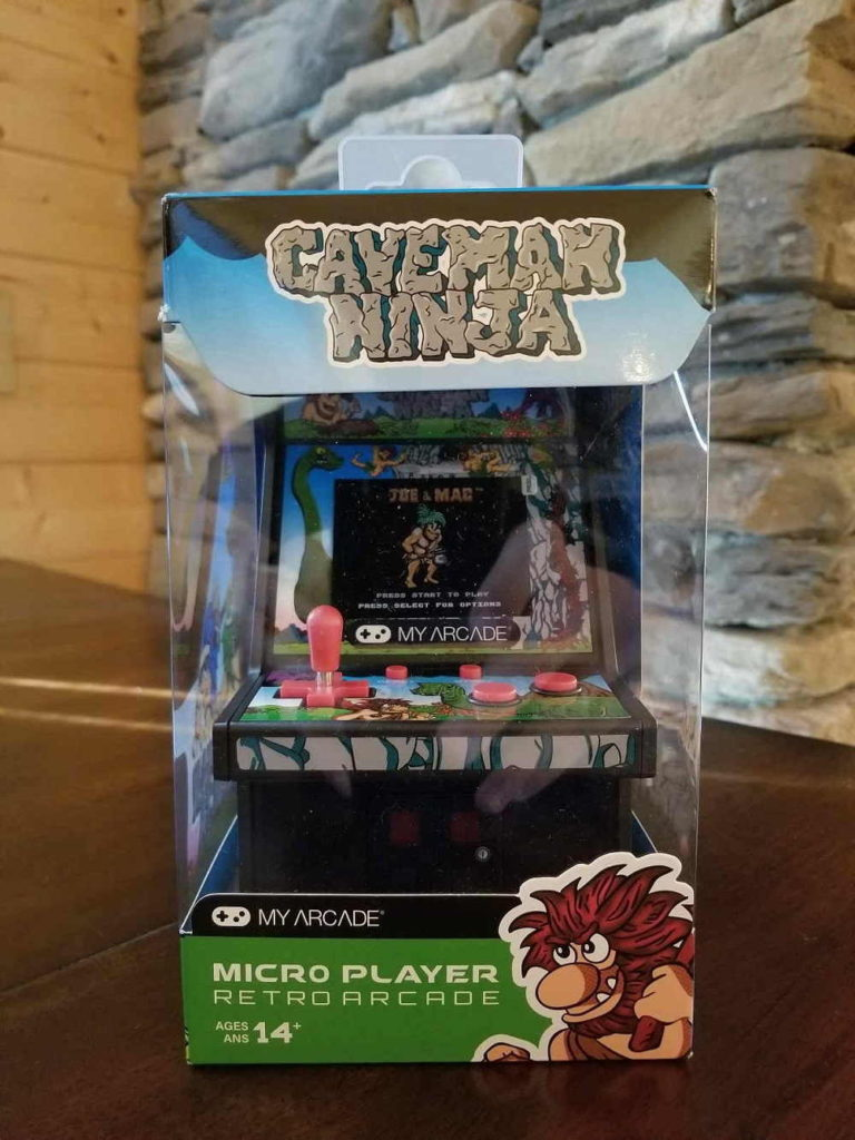 My Arcade Caveman Ninja Micro Player Review