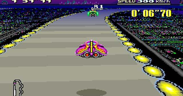 Pixelated Gamer: F-Zero on Big Blue