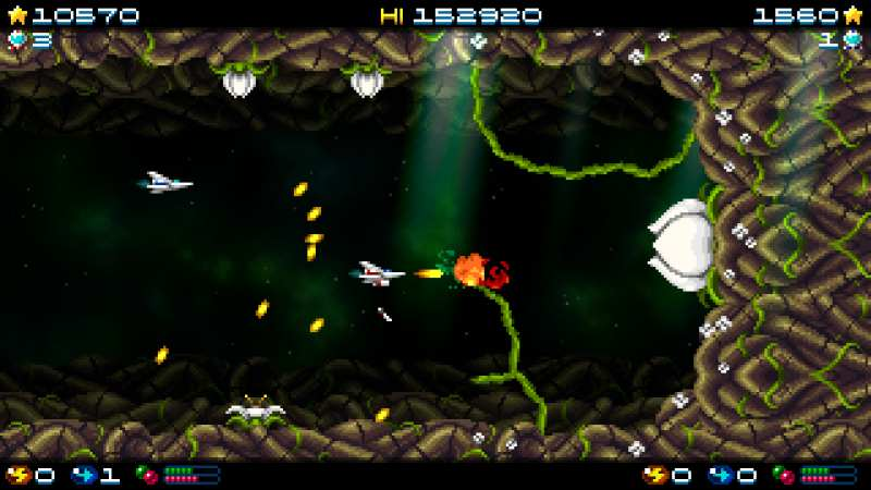 Super Hydorah Review (Xbox One) - Pixelated Gamer