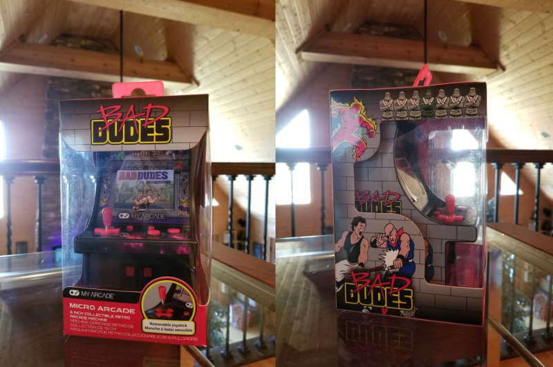 Bad Dudes Micro Player Arcade Cab Review - Pixelated Gamer