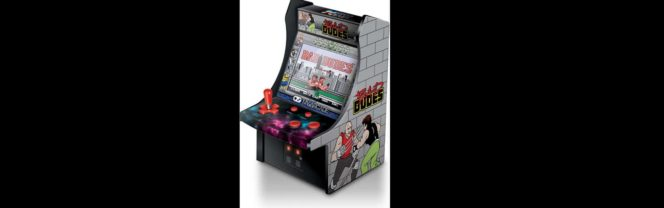 Bad Dudes Micro Player Arcade Cab Review