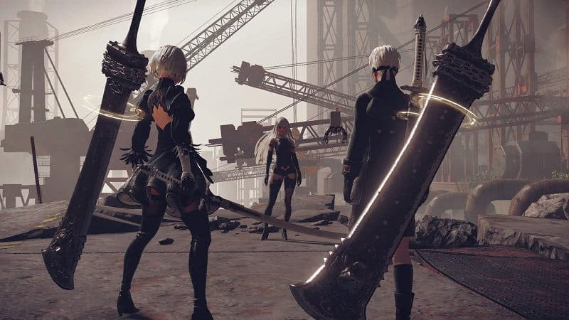 NieR: Automata Game of the YoRHa Edition Review (PS4 Pro) - Pixelated Gamer