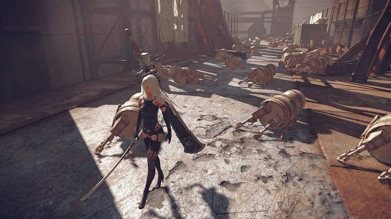 NieR: Automata Game of the YoRHa Edition Review (PS4 Pro